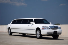 Lincoln White Stretch Limousine